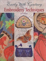 Cover of: Early 20th Century Embroidery Techniques