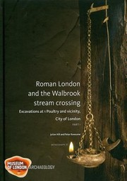 Cover of: Roman London And The Walbrook Stream Crossing