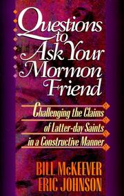 Cover of: Questions to ask your Mormon friend