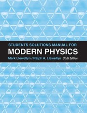 Cover of: Student Solutons Manual for Modern Physics