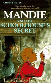 Cover of: Mandie and the schoolhouse
