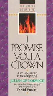 Cover of: I promise you a crown