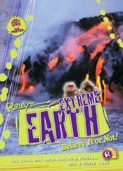 Cover of: Ripleys Extreme Earth Believe It Or Not |