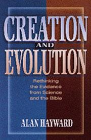 Cover of: Creation and evolution