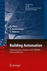 Cover of: Building Automation Communication Systems With Eibknx Lon Und Bacnet