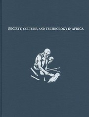 Cover of: Society Culture and Technology in Africa