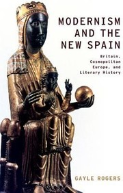 Cover of: Modernism and the New Spain