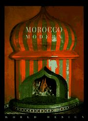 Cover of: Morocco modern