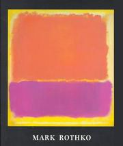 Cover of: Mark Rothko, 1903-1970