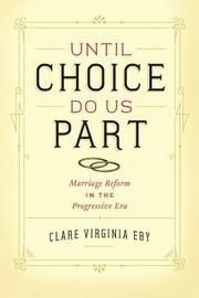 Cover of: Until Choice Do Us Part