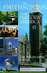 Cover of: The Mid-Atlantic States