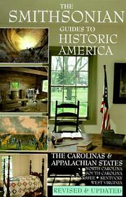 Cover of: The Carolinas and the Appalachian States