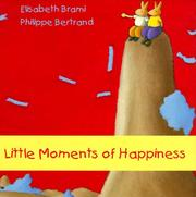 Cover of: Little moments of happiness