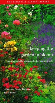 Cover of: Keeping the garden in bloom