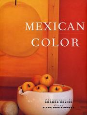 Cover of: Mexican color