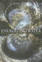 Cover of: Energizing Water Flowform Technology And The Power Of Nature