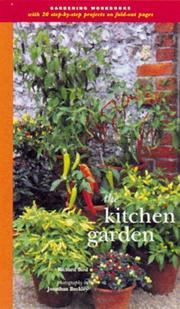 Cover of: The Kitchen Garden (Garden Project Workbooks) | Richard Bird
