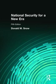 Cover of: National Security in a New Era