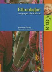Cover of: Ethnologue | Raymond G. Gordon