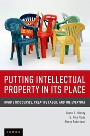 Cover of: Putting Intellectual Property in its Place |