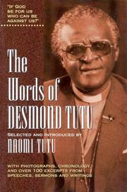 Cover of: The Words of Desmond Tutu (Words of)