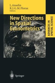 Cover of: New Directions in Spatial Econometrics