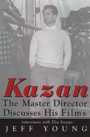 Cover of: Kazan | Elia Kazan