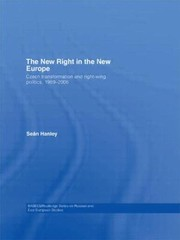 Cover of: The New Right in the New Europe