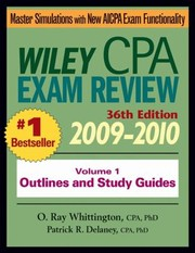 Cover of: Wiley Cpa Exam Review 20092010 |