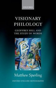 Cover of: Visionary Philology