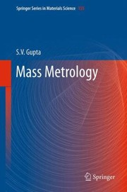Cover of: Mass Metrology