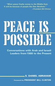 Cover of: Peace is possible | S. Daniel Abraham
