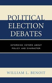 Cover of: Political Election Debates