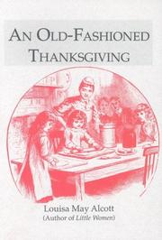 Cover of: An Old-Fashioned Thanksgiving