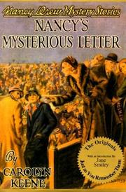 Cover of: Nancy's Mysterious Letter