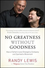 Cover of: No Greatness Without Goodness