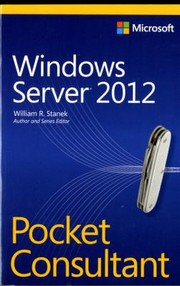 Cover of: Windows Server 2012 Pocket Consultant