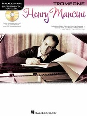 Cover of: Henry Mancini Trombone With CD Audio