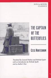 Cover of: The Captain of the Butterflies (Sun and Moon Classics)