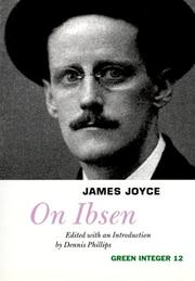 Cover of: On Ibsen