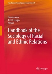 Cover of: Handbook of the Sociology of Racial and Ethnic Relations