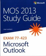 Cover of: MOS 2013 Study Guide for Microsoft Outlook