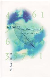 Cover of: A Season in the Desert