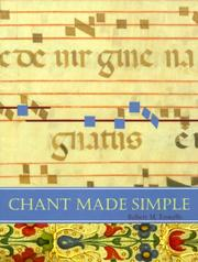 Cover of: Chant Made Simple | Robert M. Fowells