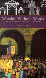 Cover of: Worship Without Words | Patricia S. Klein
