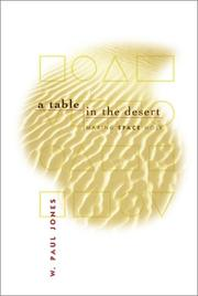 Cover of: A table in the desert