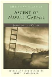 Cover of: Ascent of Mount Carmel (Christian Classics, 20)