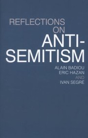 Cover of: Reflections on AntiSemitism