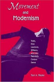 Cover of: Movement and modernism