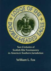 Cover of: Lodge of the Double-Headed Eagle | Fox, William L.